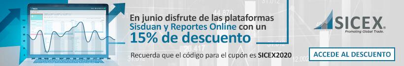 Descuento 15% en SISDUAN y todos nuestros reportes Online para el Estudio de Mercados y Data para Comercio exterior